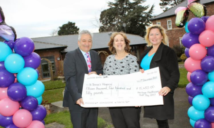 Annual golf day cracks the £200,000 barrier for hospice