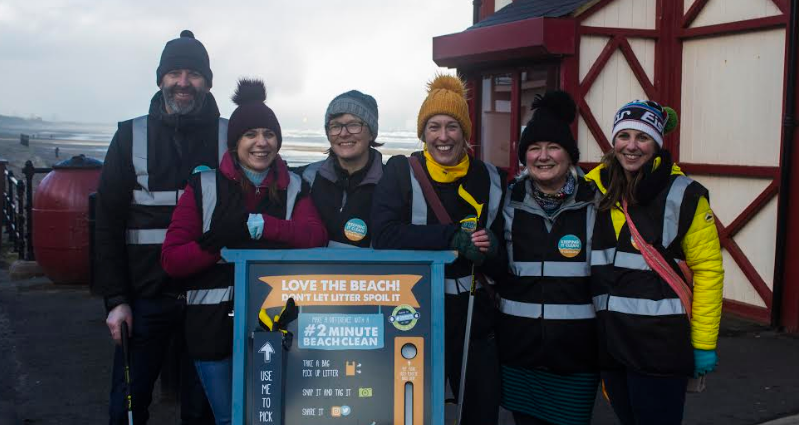 'Love it' and KICAS encourage two minute beach cleans