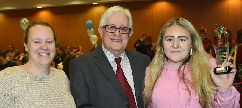 Charlotte is youngest ever Teesside Hero