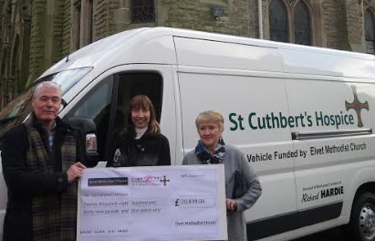 Church Group Raises Funds for New Hospice Vehicle