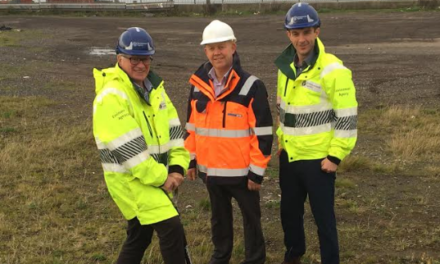 Work starts on Blyth flood defences