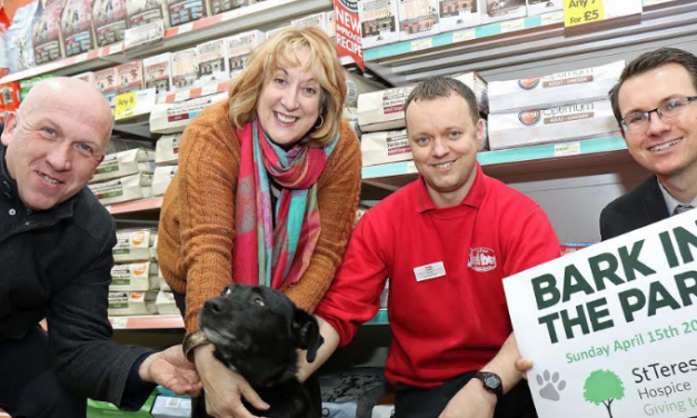 New hospice sponsor sets tails wagging