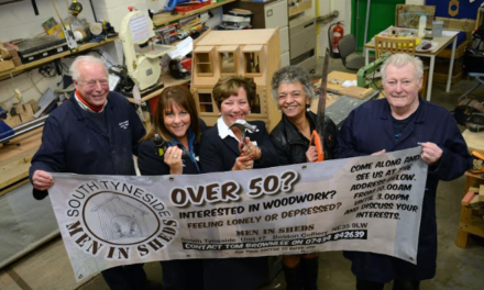 Sight for Saw Eyes as South Tyneside's Men in Sheds Win Newcastle Building Society Grant