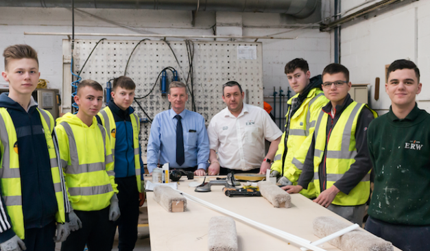 Local firm shows commitment to young workers despite Carillion collapse