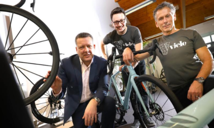 Father and Son Launching Bespoke North East Bike Brand