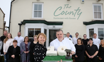 The County celebrates tenth anniversary by pledging to raise money for 10 charities