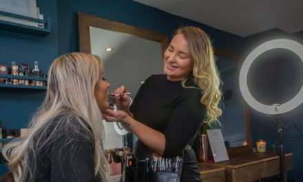 Student applies the business of beauty to a new level