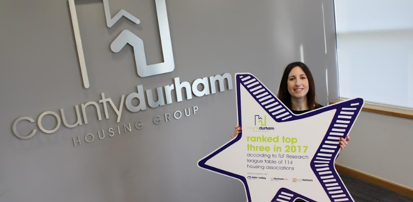 County Durham landlord ranked top three according to independent survey