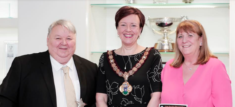 Fostering couple recognised for 35 years of service