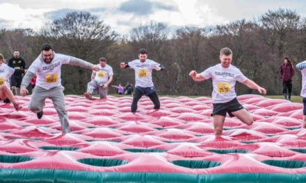 Be Gung-Ho! Take on world's biggest inflatable obstacle course for your local hospitals!