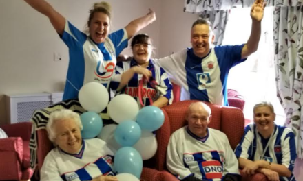 Elderly fans raise funds for Hartlepool United