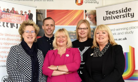 Teesside University commended for its commitment to equality