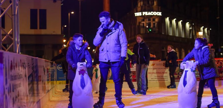 Get your skates on to enjoy last week of ice fun