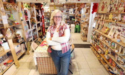 Crafts shop re-opens thanks to employment initiative