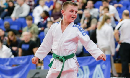 Judo glory for rising star Charlie Ayre