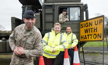 Hatton Traffic Management is encouraging more businesses to 'Sign Up'