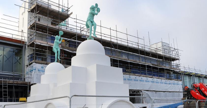 Spanish City's Dancing Ladies have had a facelift