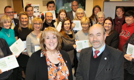 Hospice rewards volunteers for their efforts