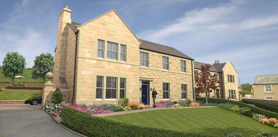 First glimpse of exclusive Northumberland homes