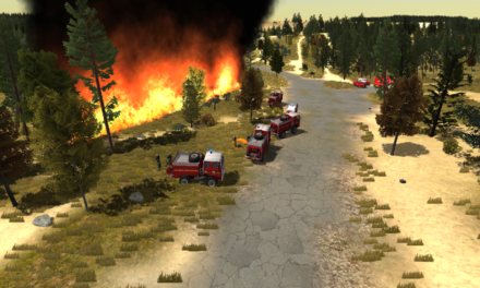Fire officers from Northumberland complete innovative wildfire training project and look towards a virtual reality future