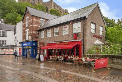 Durham riverside unit let to high end retailer and local restauranteur