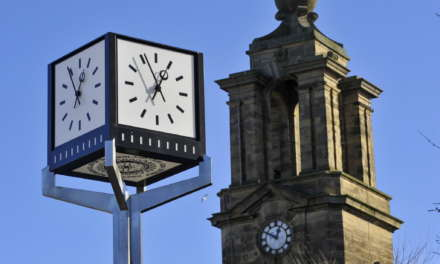 Clock takes Pride of Place in New Home