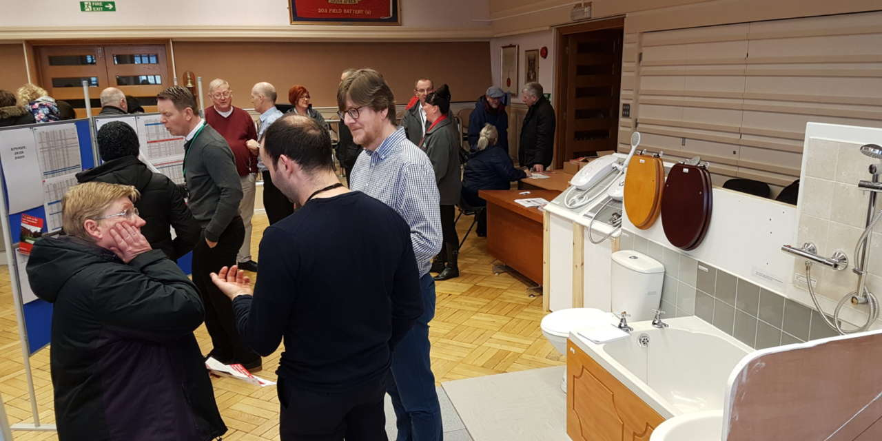 Tenants attend special exhibition