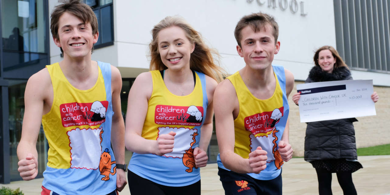 Yarm School Students get up and running for Children with Cancer UK