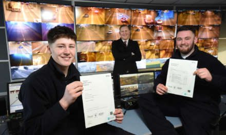 Tyne Tunnel apprentices celebrate NVQ success