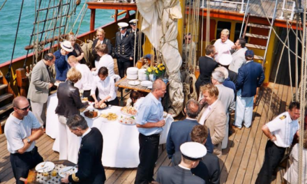 Mix business with pleasure at the Tall Ships Races Sunderland 2018