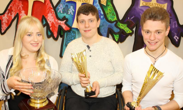 Wheelchair basketball star shares the honours with his siblings at annual awards