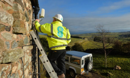 EE launches 4G home broadband antenna to connect more than 18,500 homes across the North East