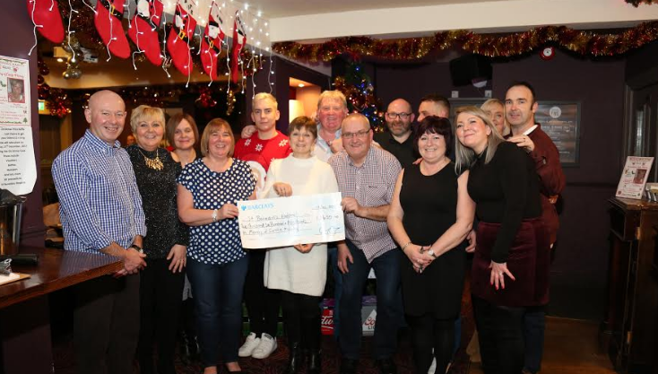 Hospice supporters raise more than £2,500 in memory of Carole