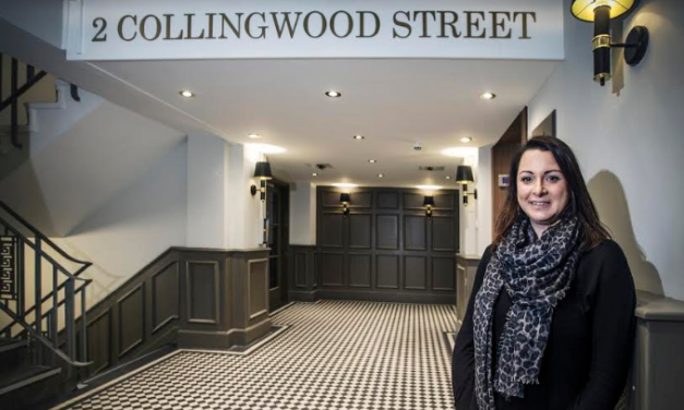 £500k refurbishment of Grade II listed Collingwood Street office building nears completion