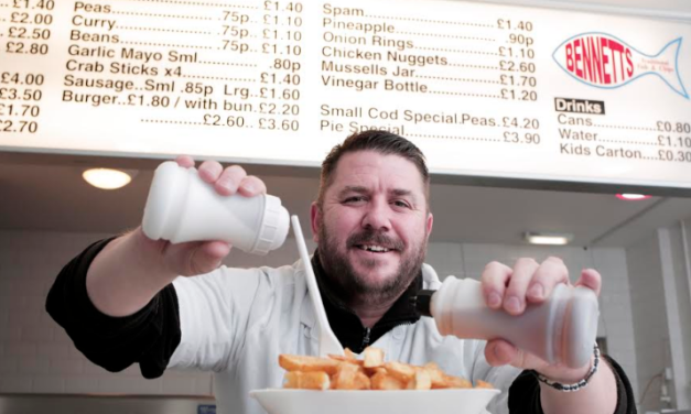 Sean follows in parents' footsteps with new chippy thanks to SSI Task Force funds