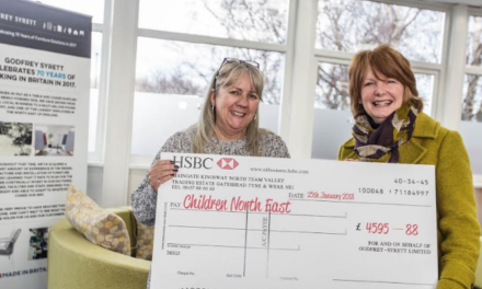 Godfrey Syrett raises thousands for local children's charity