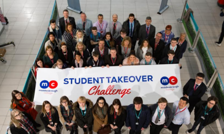 Students takeover Middlesbrough College