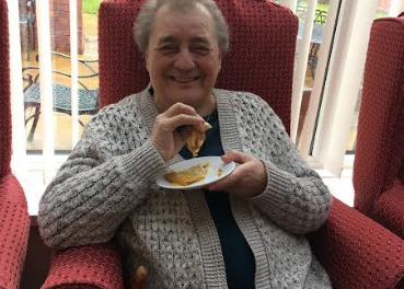 Pancake Day celebrated at The Beeches Care Home