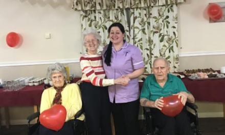 Valentine's Ball gives elderly a night to a remember