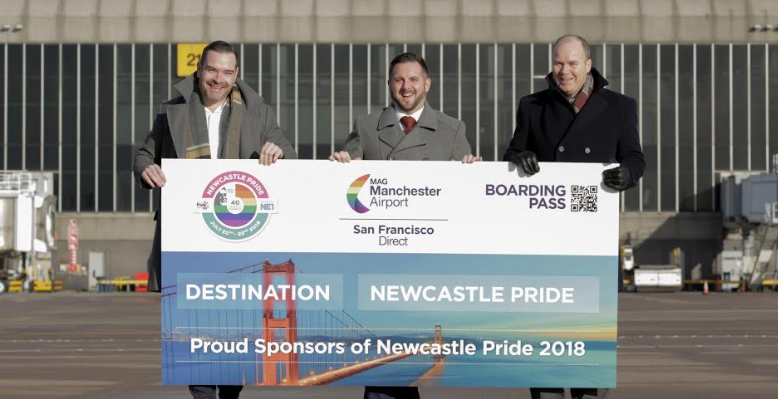 Win a trip to San Francisco with Pride and Manchester Airport