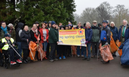 Volunteers out in force to launch Big Spring Clean
