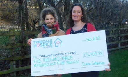 Scaling new heights for Hospice
