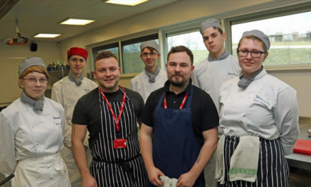 Top chefs help students stage food event