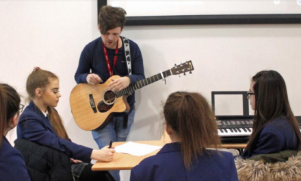 Students hone their talents in music masterclass