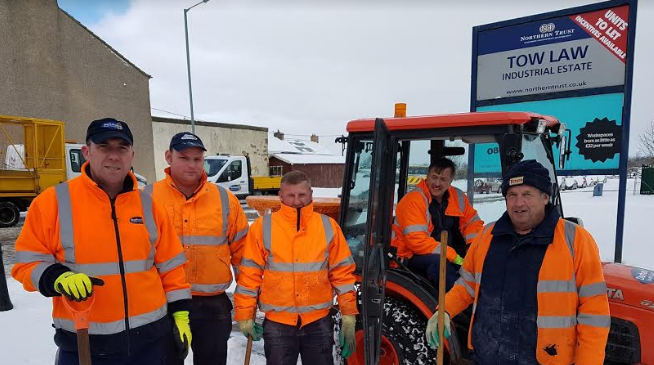 Keeping County Durham moving
