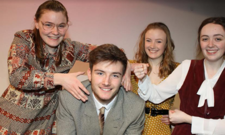 Talented drama students work 9 to 5
