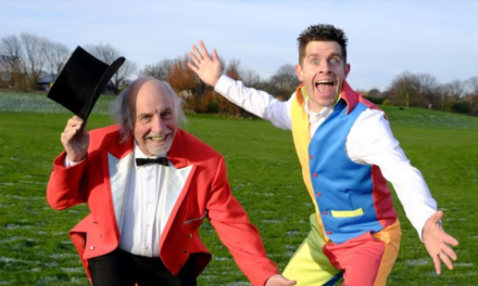 Panto and circus stars Danny Adams and Clive Webb given Panto Hall of Fame accolade