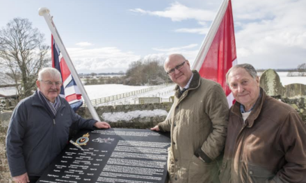 Fitting memorial to Halifax bomber crew