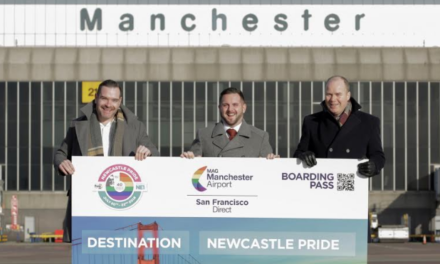 Manchester Airport on board as Newcastle Pride sponsor