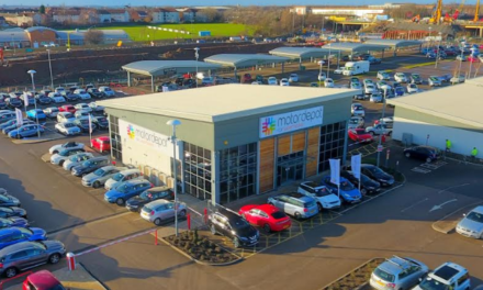 Vroom car retail park drives forward with the opening of Motordepot
